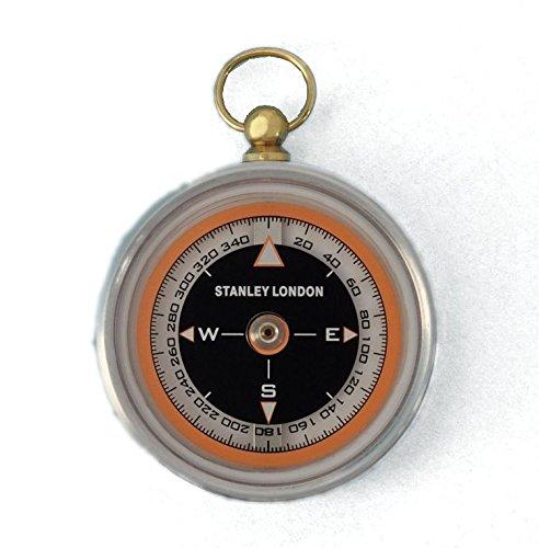 Aluminum Aviator's Pocket Compass ()