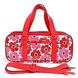 Kids paint set Sakura Color Nordic Flower red made in Japan N2106710 of case on style (japan import)
