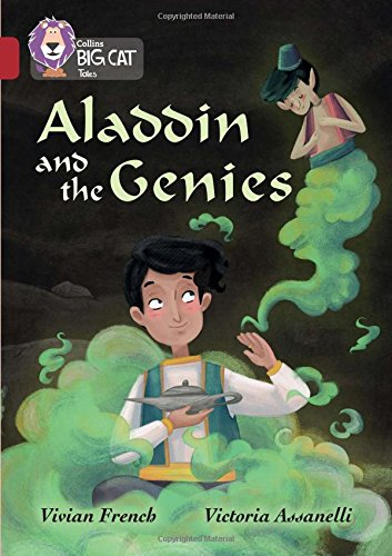 Collins Big Cat – Aladdin and the Genie: Ruby/Band 14