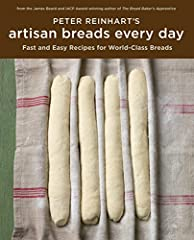 The renowned baking instructor distills professional techniques down to the basics, delivering artisan bread recipes that anyone with flour and a fridge can bake with ease. Reinhart begins with the simplest French bread, then moves on to fami...