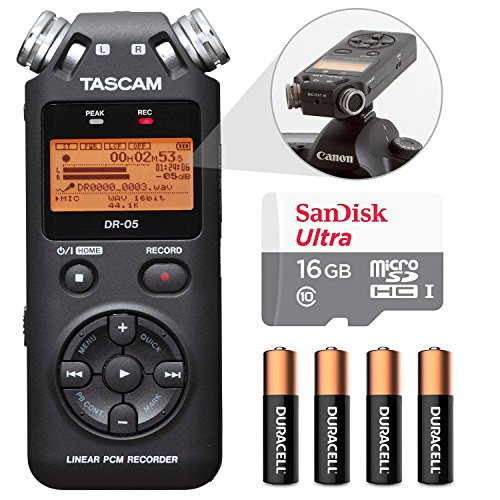 Tascam Portable Handheld Recorder accessory product image