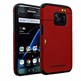 Samsung Galaxy S7 Case, DURARMOR S7 Pokemon Go [ Lifetime Warranty] Gameboy Pokemon Pokedex Dual Layer Hybrid ShockProof Ultra Slim Fit Armor Bumper Air Cushion Defender Drop Protection Case Cover