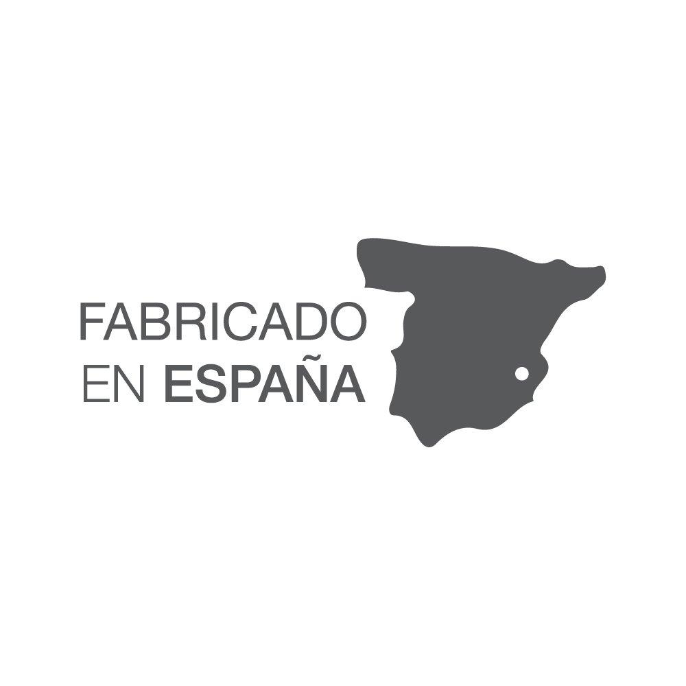 ES-TELA - Cubrecama jacquard con volante BENISSA color Gris - Cama de 180 cm. - 65% Algodón/35% Poliéster: Amazon.es: Hogar