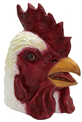 Rooster Latex Mask - Jacket Hotline Miami Costume