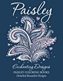 img - for Paisley Enchanting Designs(Paisley Coloring Books): Detailed Beautiful Designs book / textbook / text book
