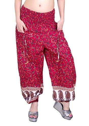 Sarjana Handicrafts - Pantalón - para mujer Rosso
