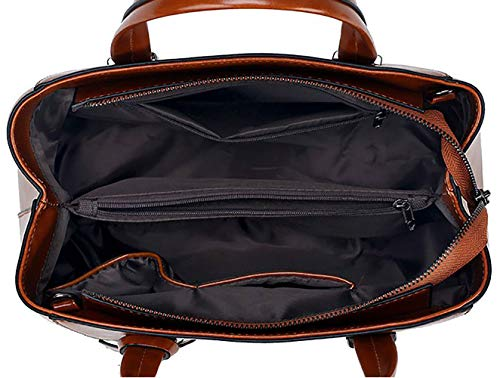 DEERWORD bandolera de mano bolsos y Mujer Fekete Carteras Bolsos hombro de clutches y Shoppers raKqrTFwBA