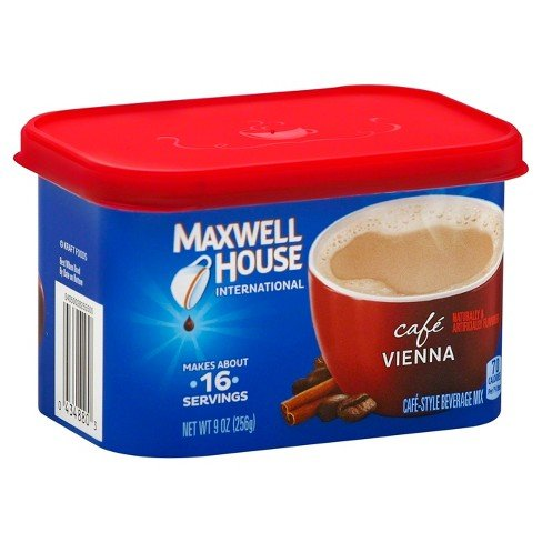 Maxwell House International Coffee Café Vienna, 9-Ounce Cans (Pack of ()