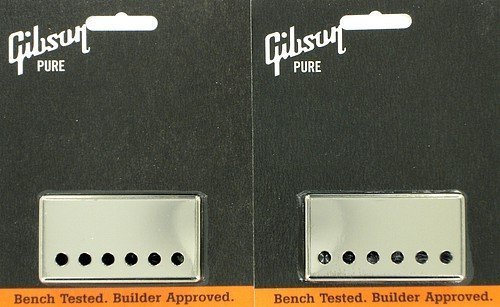 Gibson Nickel Pickup Cover Neck and Bridge Set