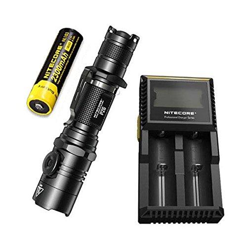 NITECORE P26 CREE XP-L HI V3 - Linterna táctica LED (1000 ...
