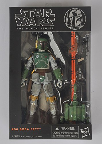 "Star wars the Black Series 6"" Action Figure PVC Boba Fett Toy Gift (new in box)"