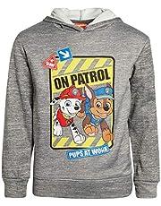 Nickelodeon Paw Patrol Boys Fleece Pullover Hoodie (Toddler/Little Kid) (Charcoal Heather, 7)'