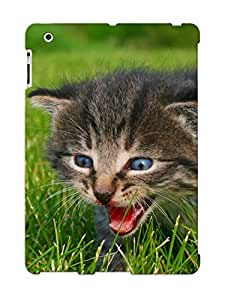 Fashion Protective Animal Cat Kitten Case Cover Design For Ipad 2/3/4
