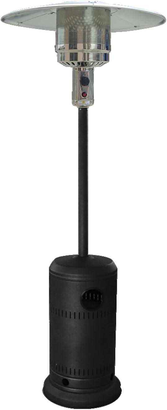 Kekai KT0585 - Estufa De Gas Para Exterior Metal Color Negro