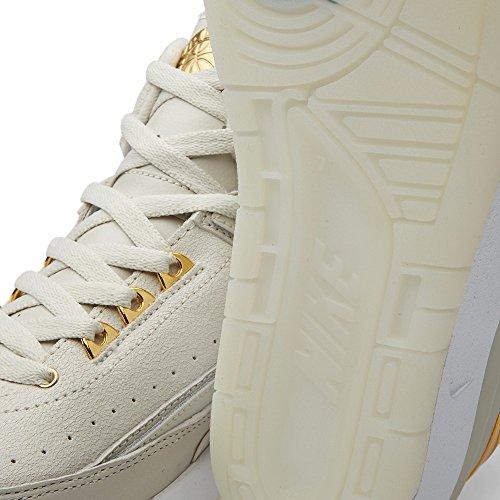 Nike 866035-001 - Zapatillas de deporte Hombre Blanco (Light Bone / Metallic Gold-White)