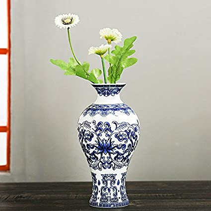 Amazon Kicode Antique Wall Mounted Porcelain Vases Traditional