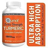 Best Curcumin 1000mgs - Turmeric Curcumin Softgels, Qunol with Ultra High Absorption Review