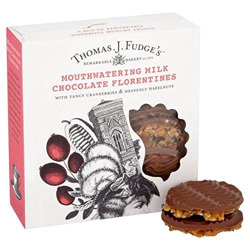 Fudges Leche florentinos chocolate 8 por paquete: Amazon.es ...