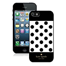Recommend Custom Design iPhone 5S Case Kate Spade New York Personalized Customized Phone Case For iPhone 5S Case 304 Black