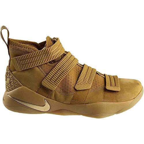 Nike Lebron Soldado 10 Para Hombre Zapatillas De Baloncesto De Trigo / Oro Disfruta a la venta 9lPSMDL