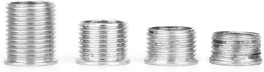 Duokon Thread Repair Kit, 14mm M141.25 Steel Spark Plug Hole Thread Repair Tool Thread Regenerator