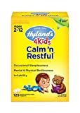 Natural Sleep Aid, Hyland's 4 Kids Calm 'n Restful Calms Forte, Relief of Insomnia and Restlessness for Children, 125 Sleeping Tablets