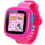 Game Smart Watch for Kids Children Boys Girls with Camera 1.5'' Touch 10 Games Pedometer Timer Alarm Clock Toy Wrist Watch Health Monitor (001CutePink)