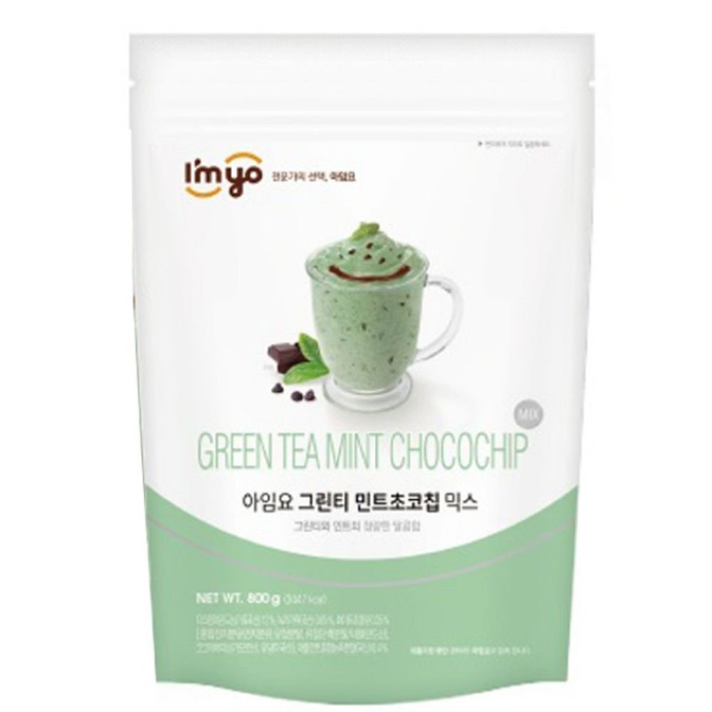 Imyo Green Tea Mint Chocolate Mix Powder 800G