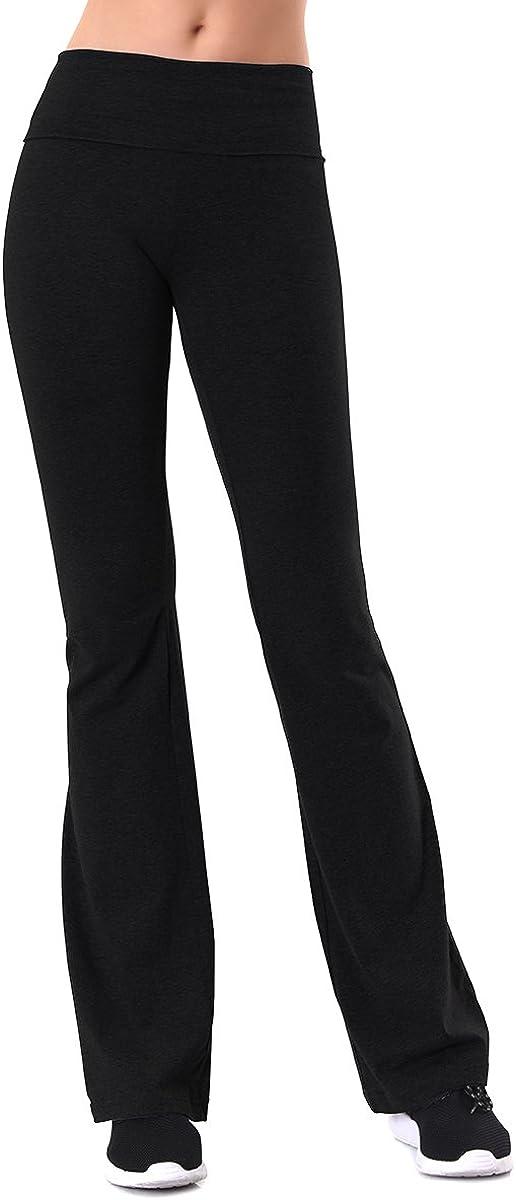 MOPAS Cotton Leggings - Women's Relaxed Fit Cotton Yoga Pants