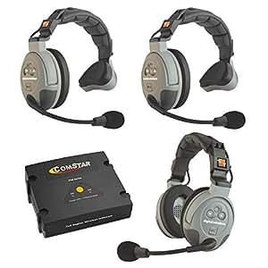 Amazon Com Eartec Comstar Xt Full Duplex Wireless