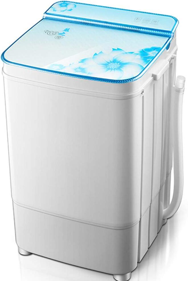 DIOE Mini Lavadora compacta portátil de una Sola bañera con Ciclo de Lavado y Centrifugado, Capacidad de 6 kg para Acampar, Apartamentos, dormitorios, Habitaciones universitarias y más