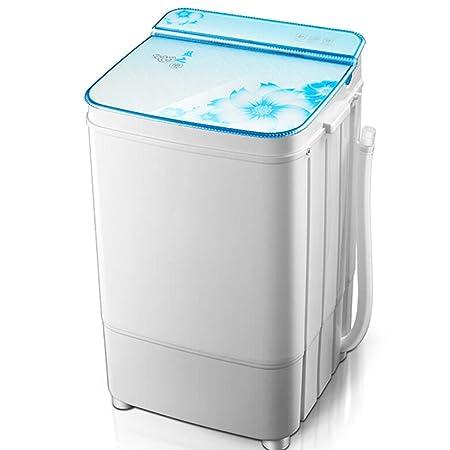DIOE Mini Lavadora compacta portátil de una Sola bañera con Ciclo ...
