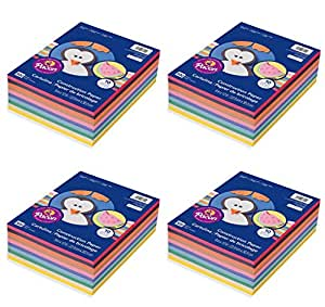 Pacon 9 x 12, 6555 Rainbow nmqgkl Super Value Construction Paper Ream, Assorted, 500 Sheets (4 Pack)