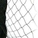 "Netting for Bird Poultry Aviary Game Pens New 2.4"" Square Mesh Size (50' X 50' Net)"