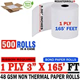 Star MICRONICS SP700 (All) 1-Ply 3 inch x 165' Paper 500 Rolls | MEGA Value Pack | from RegisterRoll