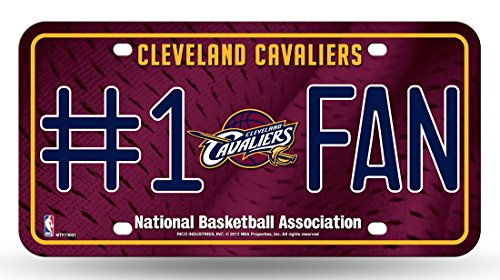 NBA Cleveland Cavaliers #1 Fan Metal Tag License - Mall Outlet Cleveland
