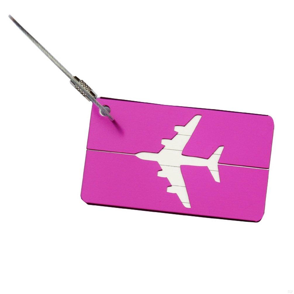 SLBGADIEME Labels Bag Travel Luggage Accessories Case Labels A Luggage Tag Travel Bag Luggage Label Tags Handbags Travel Id Tags Travel Bags Hand Luggage Tag Tag 7 Items Purple