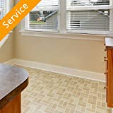 Linoleum or Vinyl Floor Installation - Installation - No Existing Flooring - Up to 300 Square Feet