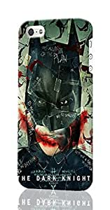 Batman - The Dark Knight Pattern Image - Protective 3d Rough Case Cover - Hard Plastic 3D Case - For iPhone 6 plus 5.5