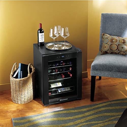 20-Bottle Evolution Series Wine Refrigerator (Black Stainless Steel Trim) by Wine Enthusiast (Image #1)