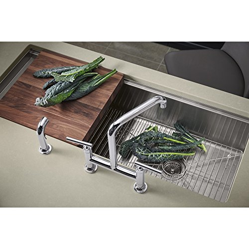 KOHLER K-3761-NA Stages 45-Inch Stainless Steel Kitchen Sink by Kohler (Image #1)