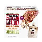 Purina Moist & Meaty Dry Dog Food, Burger with