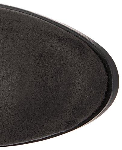 Botas Strech 2865 01 Negro negro Mujer Buffalo Para Micro 00 Mosqueteras qZ7xwnxRF