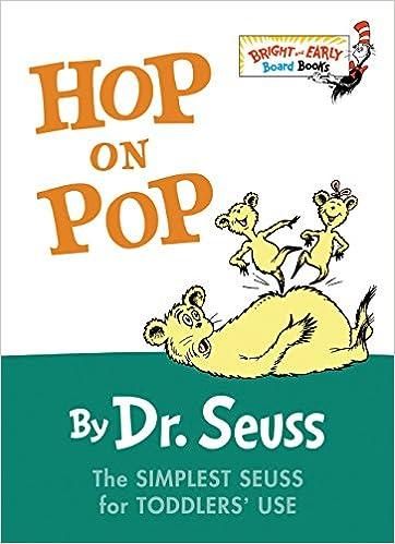 6976ef4da1aa Amazon.com  Hop on Pop (9780375828379)  Dr. Seuss  Books