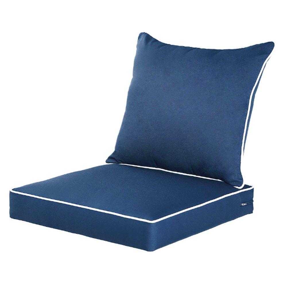 Amazoncom Qilloway Outdoorindoor Deep Seat Chair Cushions Set