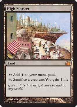 Price comparison product image Magic: the Gathering - High Market (9) - From the Vault: Realms - Foil by Magic: the Gathering