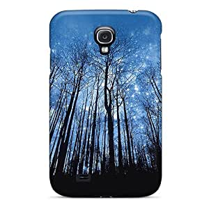 Galaxy S4 Case Slim [ultra Fit] Starry Forrest Protective Case Cover