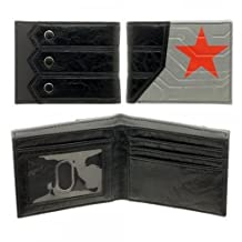 Marvel Captain America Civil War Winter Soldier Logo Bifold Wallet