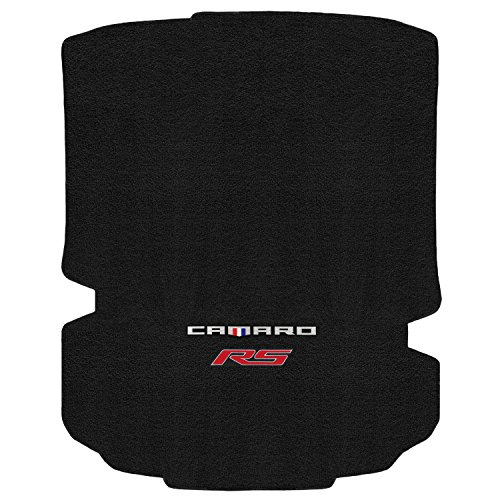 Mat Camaro Trunk (Lloyd Mats ULTIMAT Floor Mats for CAMARO 2016-ON COUPE TRUNK MAT EBONY ULTIMAT CAMARO + RS RED DOUBLE LOGO)
