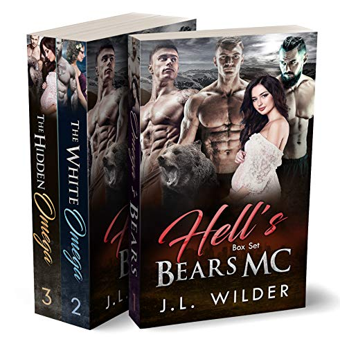 Take a ride on the back of a Hell's Bears' motorcycle in this sizzling complete series box set!Book 1: Omega's BearsI'm an omega. I'm all alone. And the wolves are coming for me.All my life, I've felt I should be stronger. All my life, I've felt I sh...